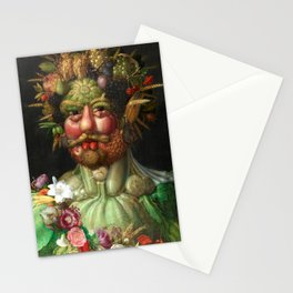 Rudolf II as Vertumnus by Giuseppe Arcimboldo, 1591 Stationery Cards