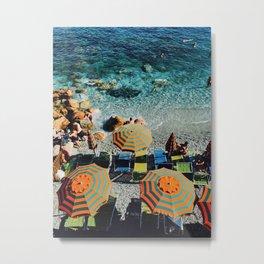 sumbrellas Metal Print