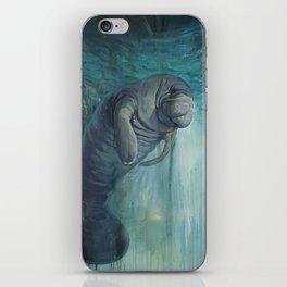 Undead Manatee iPhone Skin