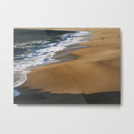 Not Anyone Can be a Fisherman in January Metal Print