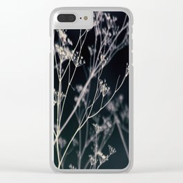Growing in Silence Clear iPhone Case