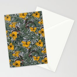 Tribal tropical bloom Stationery Cards