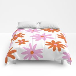 Bright Floral Comforters