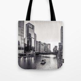 Silver River Tote Bag
