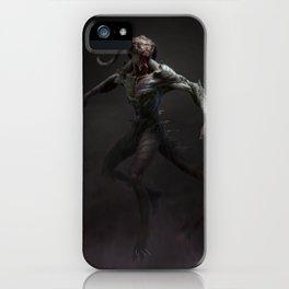 Swamp Demon iPhone Case