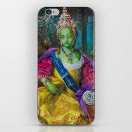 the Candy Queen / Madame de Bonbonniere iPhone Skin