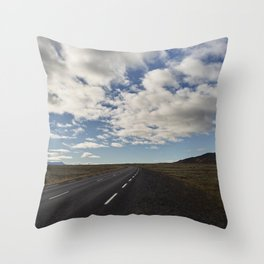 Ring Road - Iceland Throw Pillow