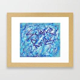 Bill Nye Framed Art Print