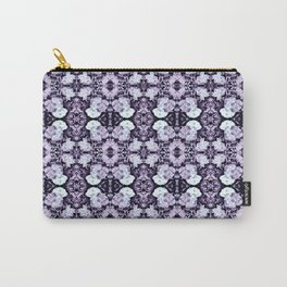 Violet  Roses Seamless Pattern Carry-All Pouch