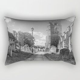 All Saints Church and Collegiate Buildings Rectangular Pillow