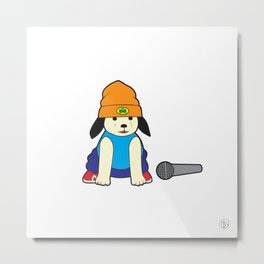 Aspirational Puppy Metal Print