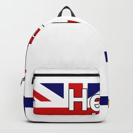 Hello I am from South Georgia and the South Sandwich Islands Backpack