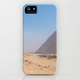 Pyramids of Giza Egypt Cairo iPhone Case