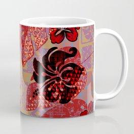 On Fire Kona Tropical Floral Coffee Mug