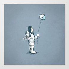 space balloon Canvas Print
