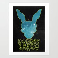 donnie darko Art Prints featuring Donnie Darko by MsSarahKane