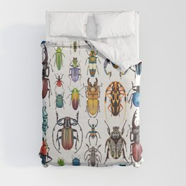Beetle Collection Duvet Cover