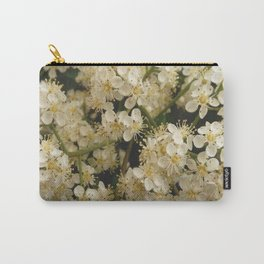 flower and light - White flower 4 Carry-All Pouch