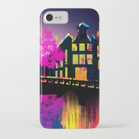 amsterdam iPhone & iPod Cases featuring Amsterdam  by mark ashkenazi
