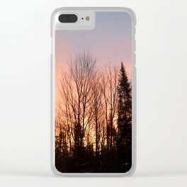 Photo 40 sunset Clear iPhone Case