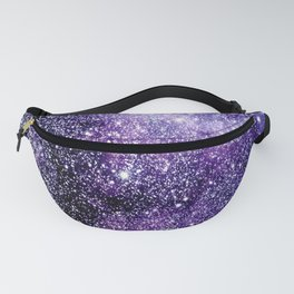 Galaxy Stars Violet Blue Fanny Pack
