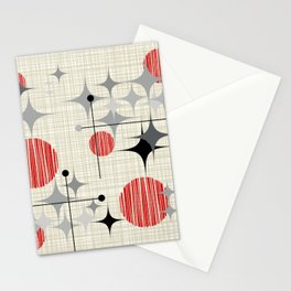 Starbursts and Globes 2 Stationery Cards