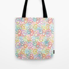 Colored pattern Tote Bag