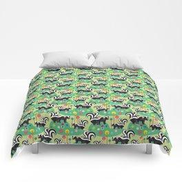 The Skunk Couples Comforters