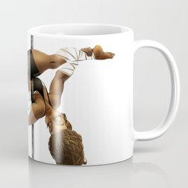 Pennys Shuriken Pole Dance Coffee Mug
