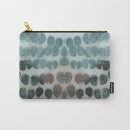 Sea Shell Disco Turquoise Carry-All Pouch