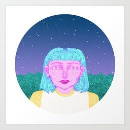 Suzie Art Print
