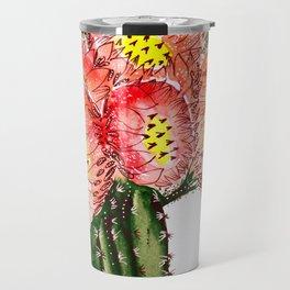 Blooming Cacti Travel Mug
