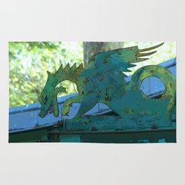 Le Dragon Vert - Luxembourg Rug