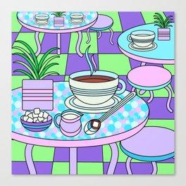 Cream & Sugar Canvas Print