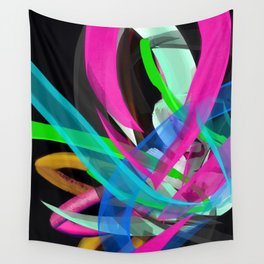 Flow Back Wall Tapestry