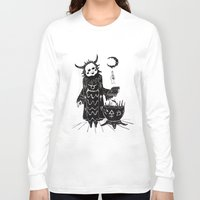 taurus Long Sleeve T-shirts featuring Taurus by Justell Vonk