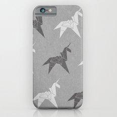 Origami Unicorn Grey Slim Case iPhone 6s