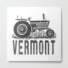 Vermont Vintage Tractor Metal Print