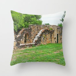 Mission Espada II Throw Pillow
