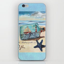 Anything is possible. iPhone Skin
