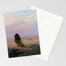 Jean-Leon Gerome - The two majesties Stationery Cards