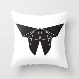Origami Butterfy Throw Pillow