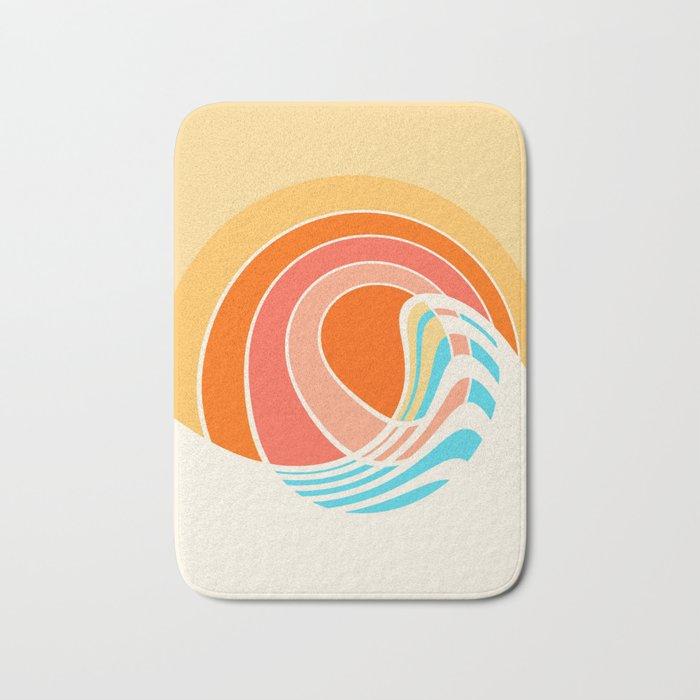 Sun Surf Bath Mat