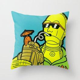 C-Tiki-O Throw Pillow