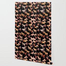 New Year 2019 pattern Wallpaper