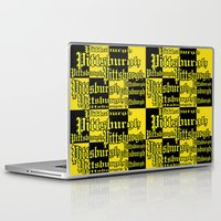 pittsburgh Laptop & iPad Skins featuring Pittsburgh Shout by Wired Circuit