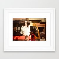 chocolate Framed Art Prints featuring Chocolate by Sébastien BOUVIER