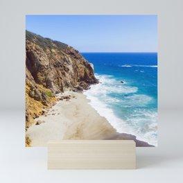 Malibu Beach Photography Mini Art Print