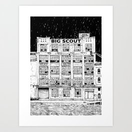 Big Scout Tour Poster Art Print