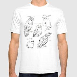Birds of New Zealand T-shirt